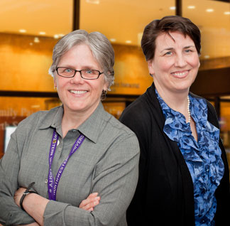 Patricia M. Garcia, MD, MPH and Dr. Sarah Sutton, MD