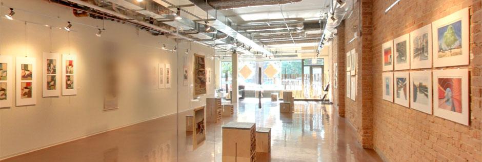 Floating World Gallery Interior